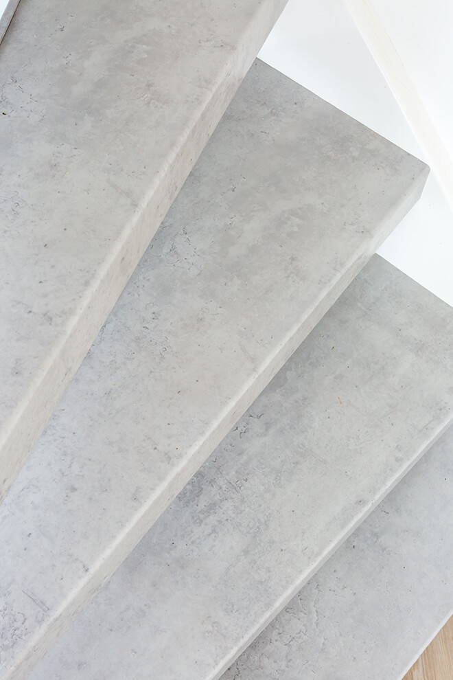 Traprenovatie - Basic stijl - cloudy cement 2 - tredes